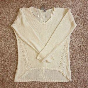 Quinn White Sweater